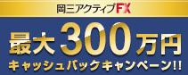 最大300万円キャッシュバックキャンペーン