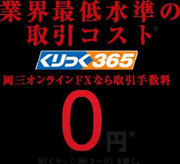 岡三オンライン証券 くりっく365 1枚目